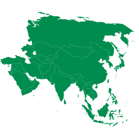 10914-asian-continent-clipart